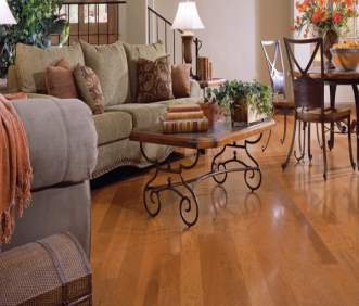 Harris Wood flooring Distinctions Collection Hickory Honeytone HE2012HK50