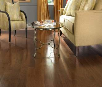 Harris Wood flooring Distinctions Collection Rustic Pecan Dark Mustang HE2023PE50