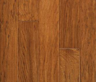 Harris Wood flooring Harris SpringLoc Today Collection Vintage Hickory Caramel HE2600