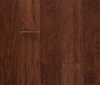 Harris Wood flooring Harris SpringLoc Today Collection Vintage Hickory Dark Cognac HE2602