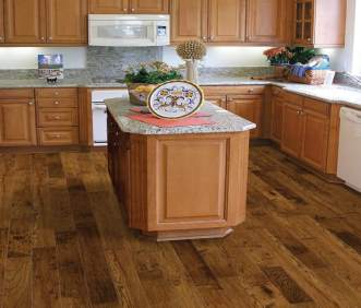 Hallmark Flooring Heirloom Buckskin Hickory