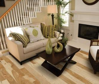 Hallmark Flooring Heirloom Natural Hickory