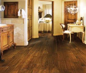 Hallmark Flooring Heirloom Tea Leaf Hickory
