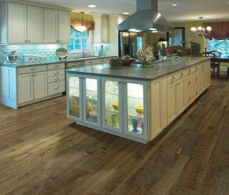 Hallmark Flooring Organic Engineered Gunpowder Oak