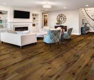Hallmark Flooring Organic Engineered Oolong Hickory