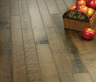 Hallmark Flooring Organic Solid Hardwood flooring Cardamom Maple