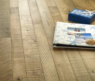 Hallmark Flooring Organic Solid Hardwood flooring Cassia Maple