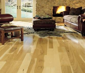Somerset Flooring - Specialty Collection Hickory Natural PS314HCB PP41HCB PP51HCB