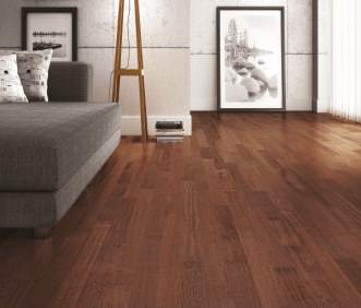 Triangulo Exotic Flooring - Brazilian Cherry Royal