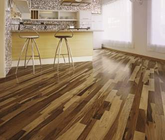 Triangulo Exotic Flooring - Brazilian Pecan