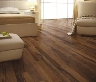 Triangulo Exotic Flooring - Brazilian Pecan Chocolate