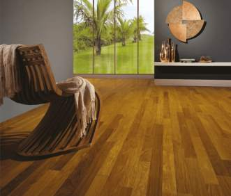 Triangulo Exotic Flooring - Brazilian Teak
