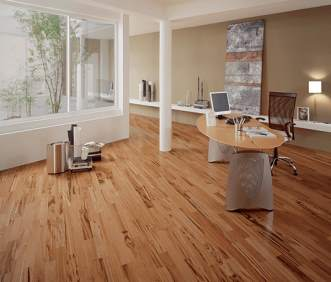 Triangulo Exotic Flooring - Brazilian Tigerwood